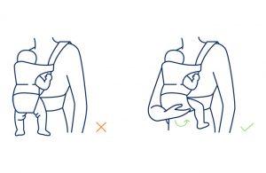kako ispravno koristiti nosiljke za djecu